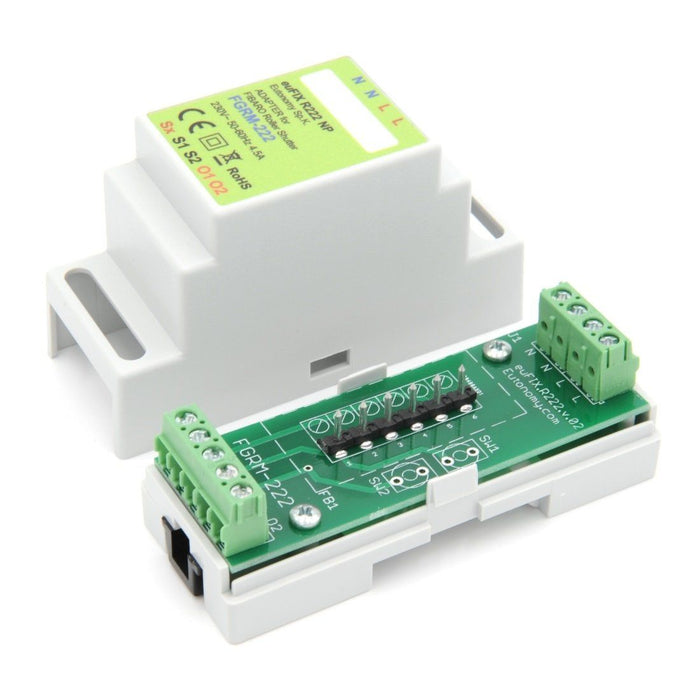 Eutonomy euFIX Adapter DIN for Fibaro Roller Shutter 3 Migration_Modules Eutonomy