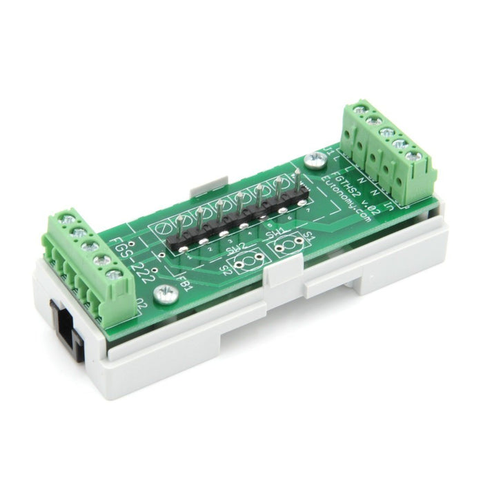 Eutonomy euFIX Adapter DIN for Fibaro Relay Switch 2x1,5kW Migration_Modules Eutonomy