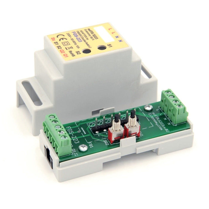 Eutonomy euFIX Adapter DIN for Fibaro Double Switch 2 (with Push-Buttons) Migration_Modules Eutonomy