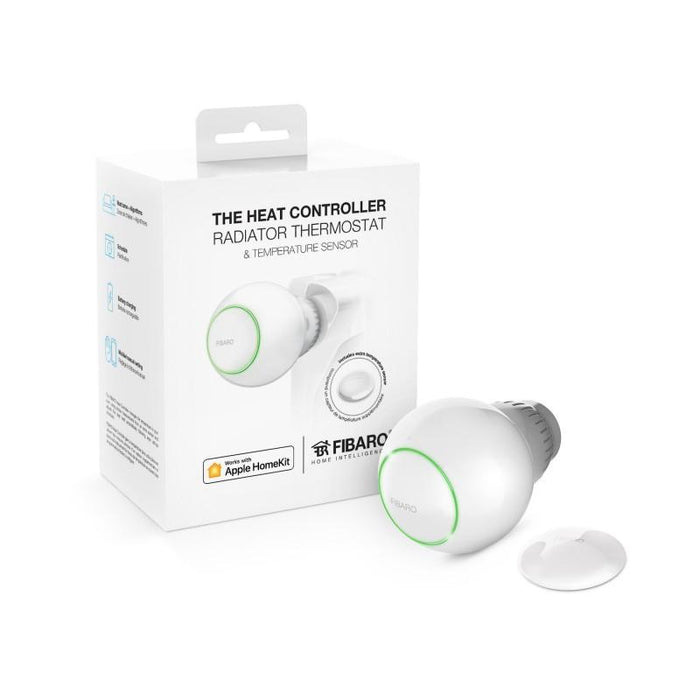 Fibaro Radiator Thermostat Starter Pack Bluetooth HomeKit Migration_Radiator Valves Fibaro