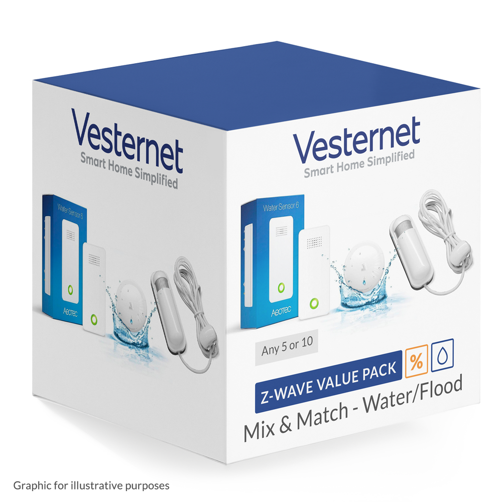 Z-Wave Water Mix & Match - 5 or 10 pack discount Migration_Modules Vesternet