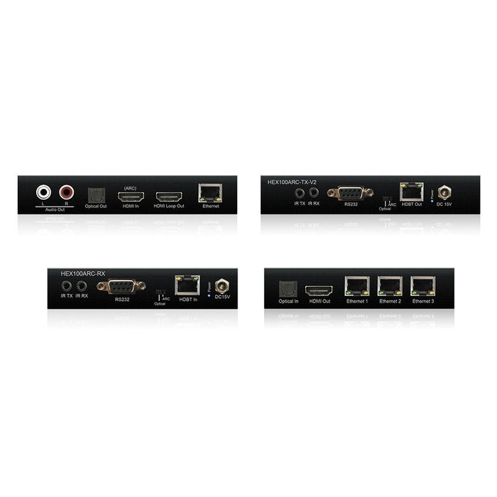 Blustream HDBaseT Extender Set HEX100ARC-KIT-V2 Migration_Video and Audio Blustream
