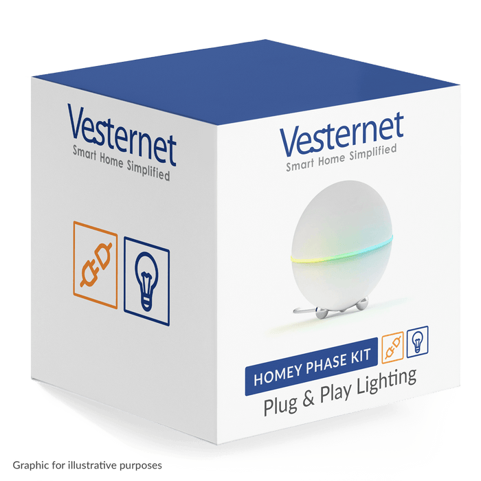 Homey Phase Kit: Plug & Play Lighting Phase Kit Vesternet