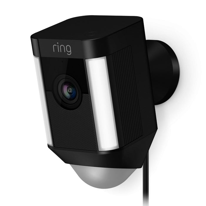 Ring Spotlight Cam Wired Migration_Cameras Ring Black