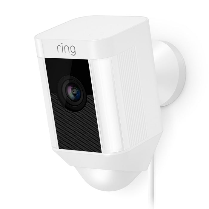 Ring Spotlight Cam Wired Migration_Cameras Ring White