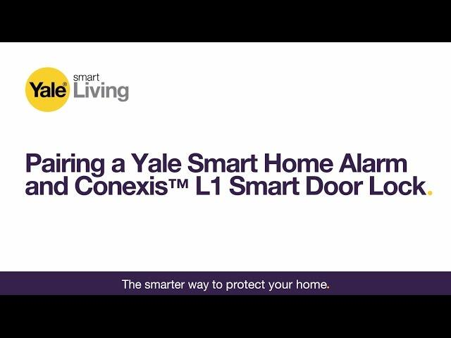 Yale Conexis L1 Smart Door Lock - Polished Chrome Migration_Door Locks Yale