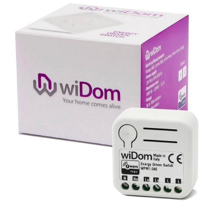Z-Wave wiDom Energy Driven Switch Shunt Version Migration_Modules wiDom
