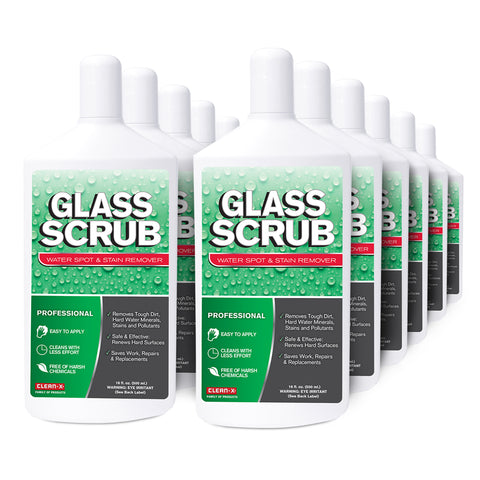 12-PACK  Glass Scrub® Water Spot & Stain Remover - 16oz #29893