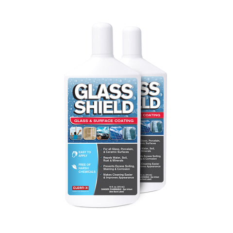 Glass Shield - 16 oz - 2 Pack