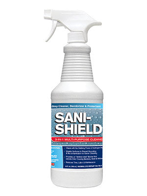 Sani- Shield® Antimicrobial 3-in-1 Surface Care - 32oz - 12 Pack #40997