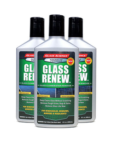 Glass Renew - 8 oz - 3 Pack by Glass Science #300803