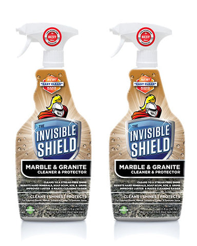 Invisible Shield® Marble & Granite Cleaner & Protectant - 25 oz - 2 Pack #57832