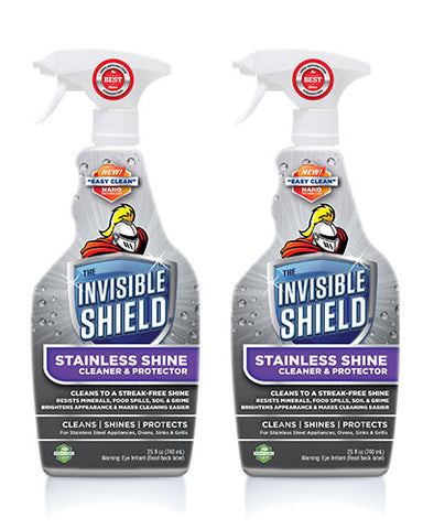 Invisible Shield® Stainless Shine Cleaner & Protectant - 25 oz - 2 Pack #57822