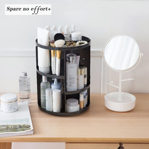 360 Makeup Rotating Organizer