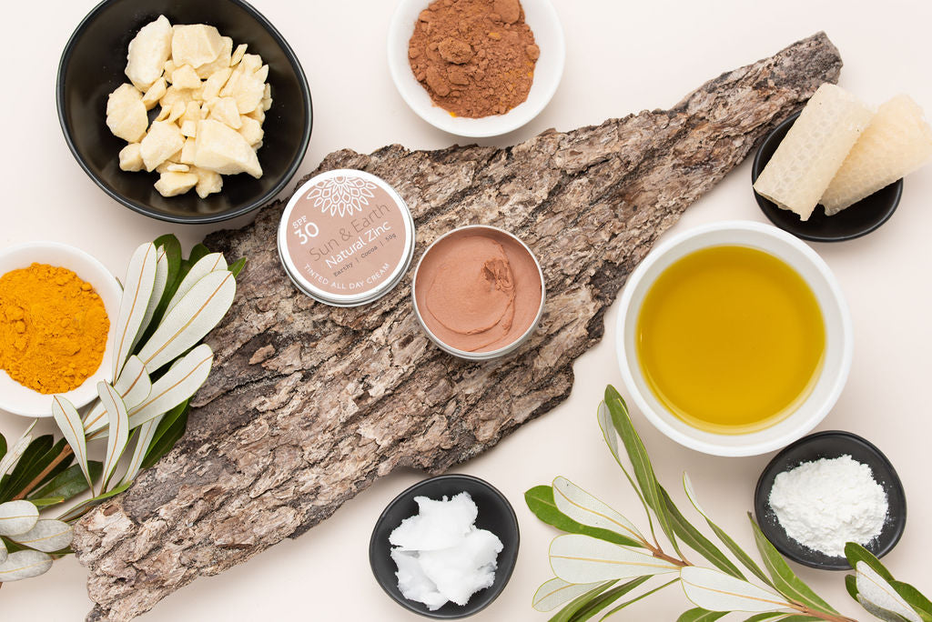 healing benefit of cacao butter natural sunscreen ingredients
