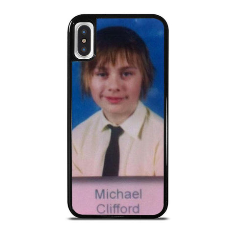 5SOS-MICHAEL-CLIFFORD-iphone-x-case-cover