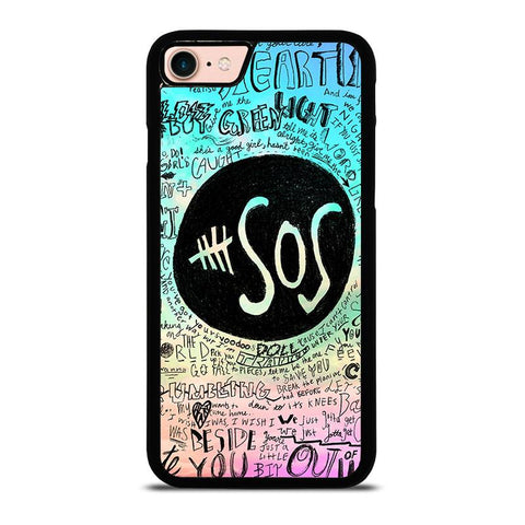 5-SECONDS-OF-SUMMER-3-iphone-8-case-cover