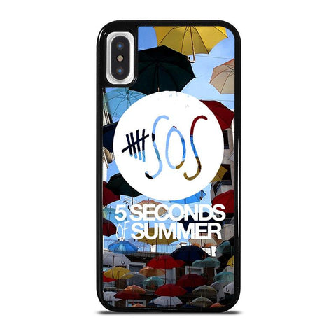 5-SECONDS-OF-SUMMER-4-iphone-x-case-cover