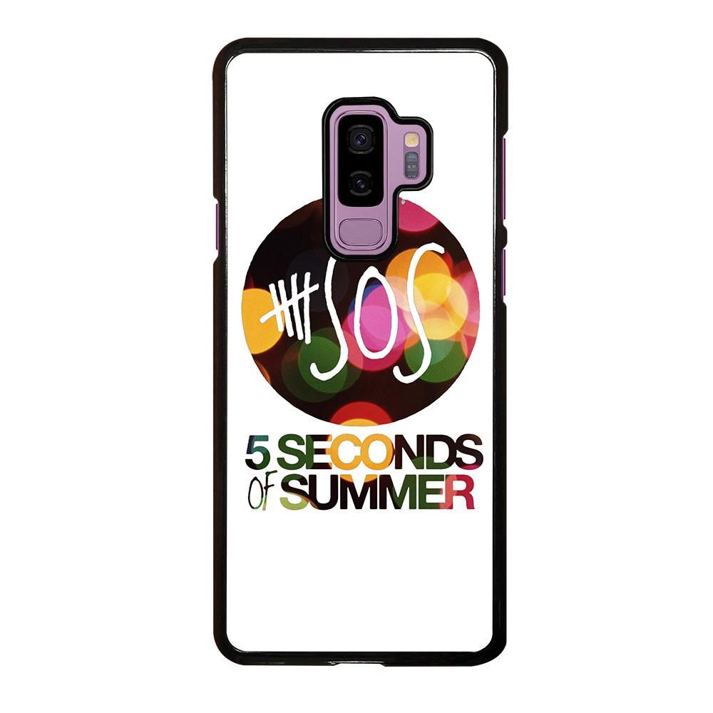 quality design 84e5a 01b4b 5 SECONDS OF SUMMER 5 5SOS Samsung Galaxy S9 Plus Case Cover - Favocase
