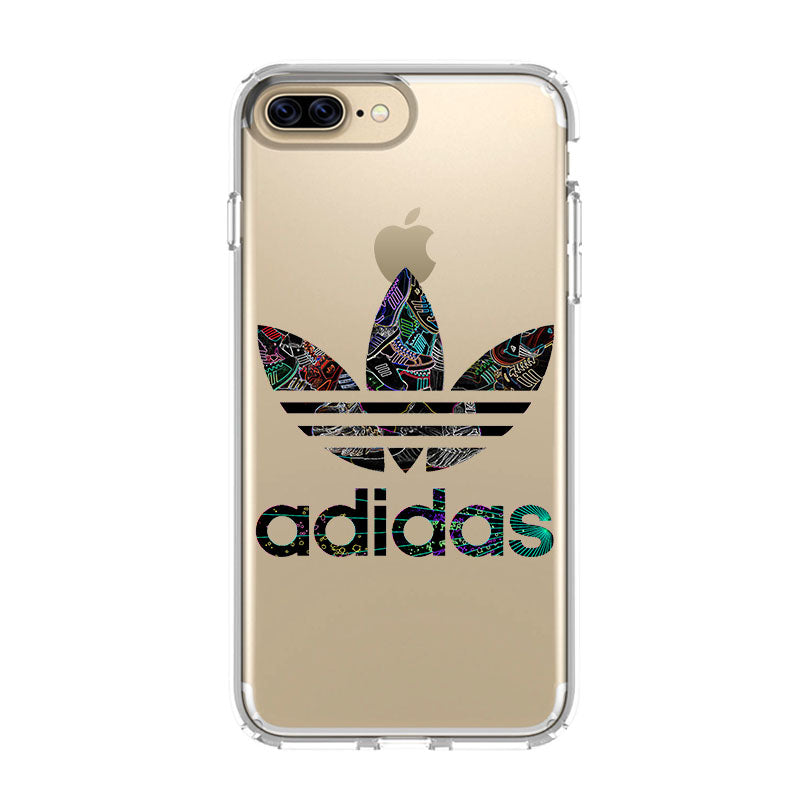 sports shoes c3211 1e868 ADIDAS ART iPhone 5/5S/SE 6/6S 7 8 Plus X/XS Max XR Clear Case - Favocase