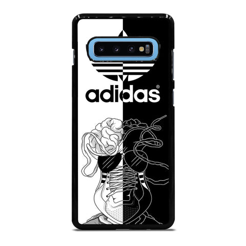 ADIDAS BLACK & WHITE-samsung-galaxy-s10-plus-case-cover