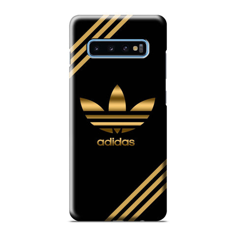 ADIDAS GOLD Samsung Galaxy S6 S7 S8 S9 S10 S10e Edge Plus Note 8 9 10 10+ 3D Case Cover