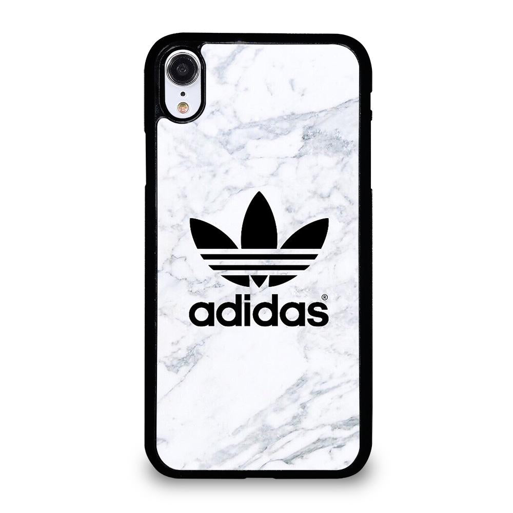 quality design 72ff4 a8c1c ADIDAS MARBLE LOGO iPhone XR Case Cover - Favocase