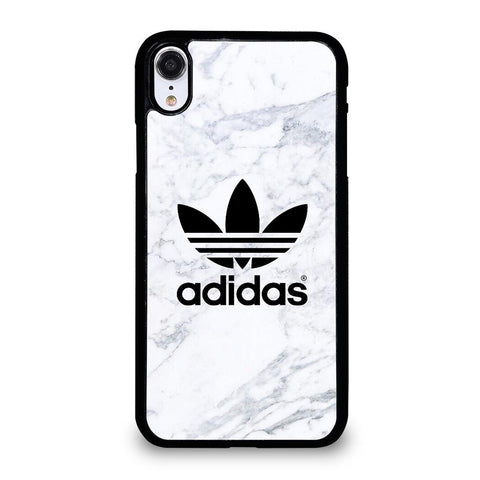 ADIDAS MARBLE LOGO-iphone-xr-case-cover