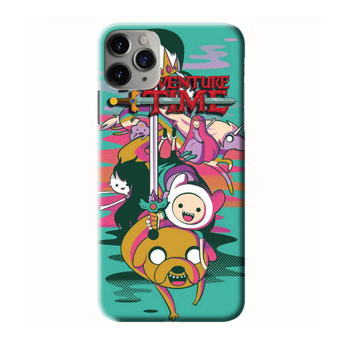 ADVENTURE TIME iPhone 6/6S 7 8 Plus X/XS XR 11 Pro Max 3D Case - Cool Custom Cover Personalized Design