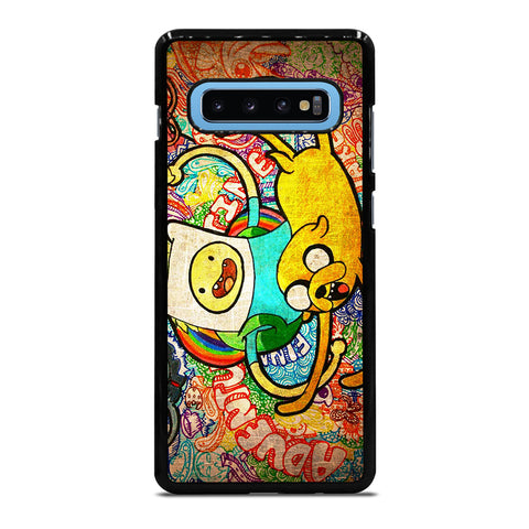 ADVENTURE TIME Finn and Jake Samsung Galaxy S10 Plus Case - Best Custom Phone Cover Cool Personalized Design