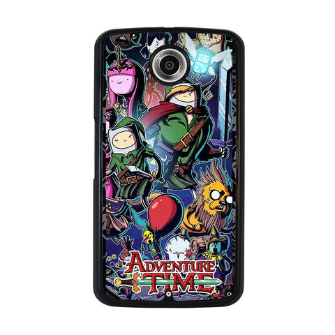 ADVENTURE-TIME-LEGEND-OF-ZELDA-nexus-6-case-cover