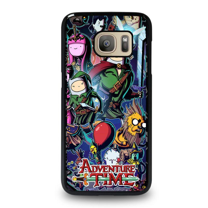 release date: 4ae60 37786 ADVENTURE TIME LEGEND OF ZELDA Samsung Galaxy S7 Case Cover - Favocase