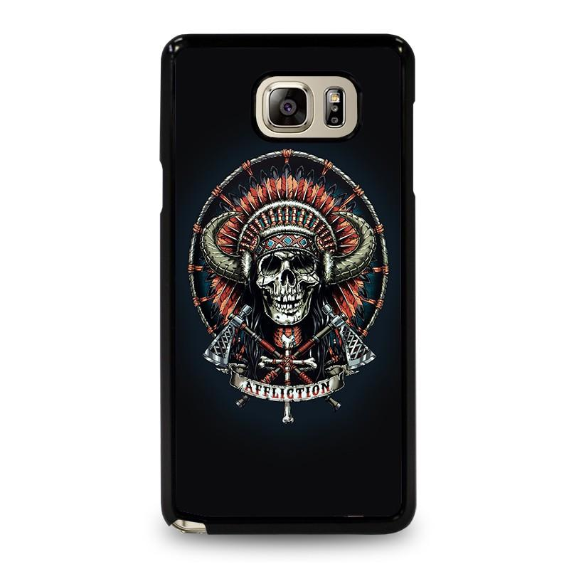 AFFLICTION INDIAN SKULL iphone case