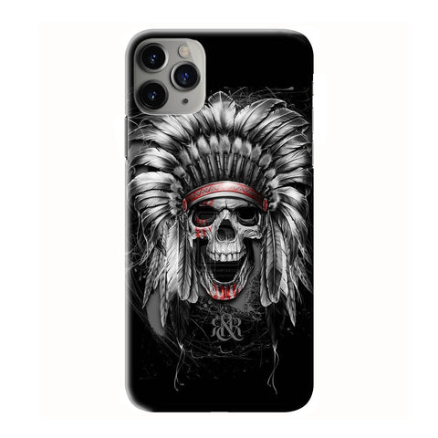 AFFLICTION SKULL INDIAN iPhone 6/6S 7 8 Plus X/XS XR 11 Pro Max 3D Case - Cool Custom Cover Personalized Design