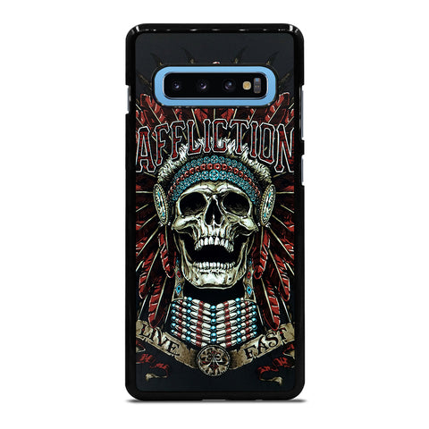 AFFLICTION SKULL INDIAN Samsung Galaxy S10 Plus Case - Best Custom Phone Cover Cool Personalized Design