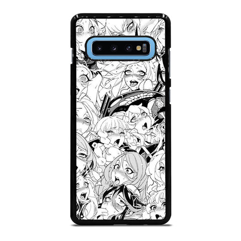 AHEGAO PERVERT Samsung Galaxy S10 Plus Case - Best Custom Phone Cover Cool Personalized Design