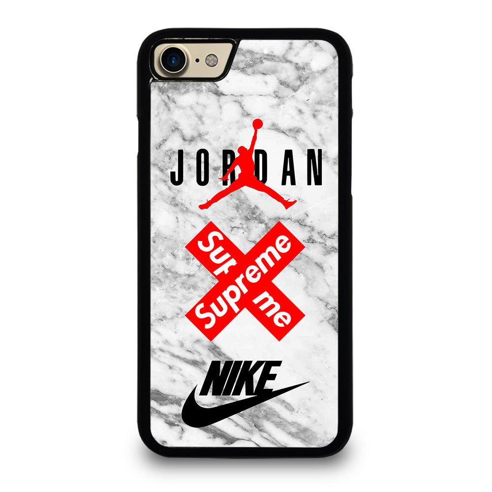 separation shoes fd6d9 bdfd3 AIR JORDAN MARBLE SUPREME NIKE iPhone 7 Case Cover - Favocase