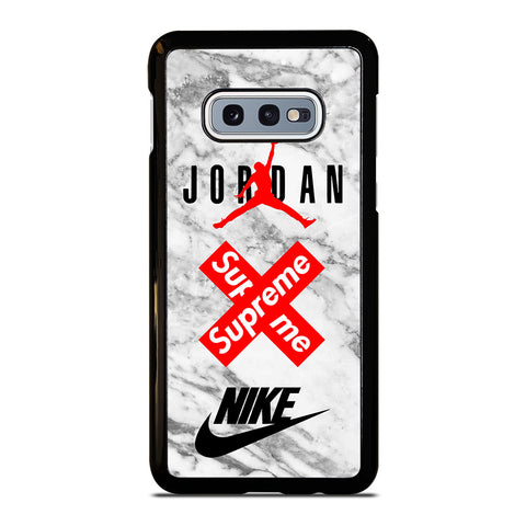 AIR JORDAN MARBLE SUPREME NIKE-samsung-galaxy-S10e-case-cover