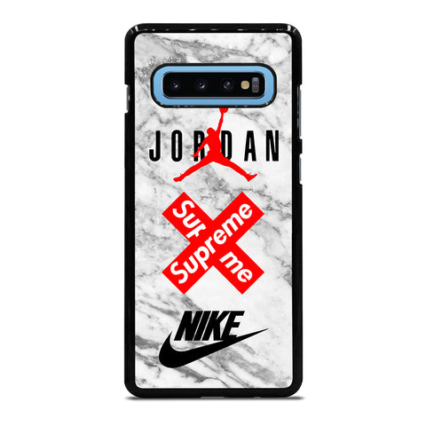 AIR JORDAN MARBLE SUPREME NIKE Samsung Galaxy S10 Plus Case - Best Custom Phone Cover Cool Personalized Design
