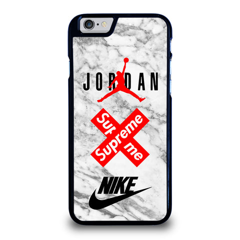 AIR JORDAN MARBLE SUPREME NIKE-iphone-6-6s-case-cover