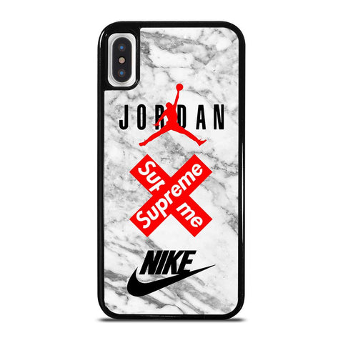 AIR JORDAN MARBLE SUPREME NIKE-iphone-x-case-cover