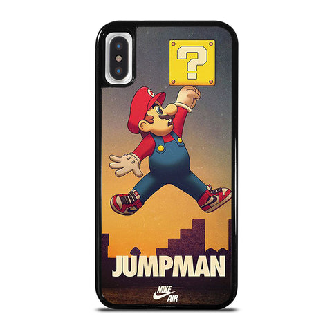 AIR JORDAN MARIO BROSS iPhone X / XS Case - Best Custom Phone Cover Cool Personalized Design
