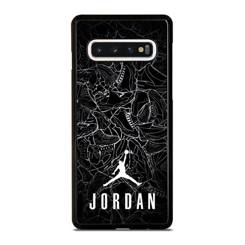 AIR JORDAN SHOES COLLAGE LOGO-samsung-galaxy-s10-case-cover