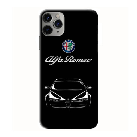 ALFA ROMEO CAR CLIPART iPhone 6/6S 7 8 Plus X/XS XR 11 Pro Max 3D Case - Cool Custom Cover Personalized Design