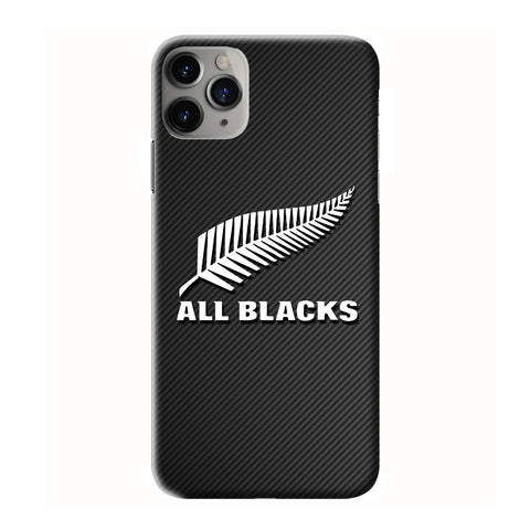 ALL BLACKS TEAM NEW ZEALAND CARBON iPhone 6/6S 7 8 Plus X/XS XR 11 Pro Max 3D Case - Cool Custom Cover Personalized Design