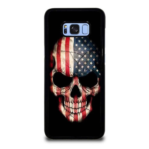 AMERICAN-FLAG-SKULL-samsung-galaxy-S8-plus-case-cover