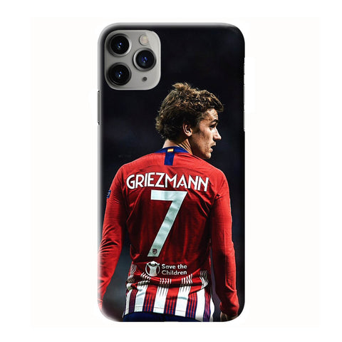 ANTOINE GRIEZMANN ATLETICO MADRID iPhone 6/6S 7 8 Plus X/XS XR 11 Pro Max 3D Case - Cool Custom Cover Personalized Design