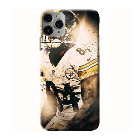ANTONIO BROWN STEELERS iPhone 6/6S 7 8 Plus X/XS XR 11 Pro Max 3D Case - Cool Custom Cover Personalized Design