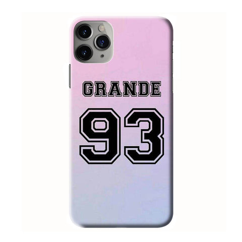 ARIANA GRANDE 93 iPhone 6/6S 7 8 Plus X/XS XR 11 Pro Max 3D Case - Cool Custom Cover Personalized Design