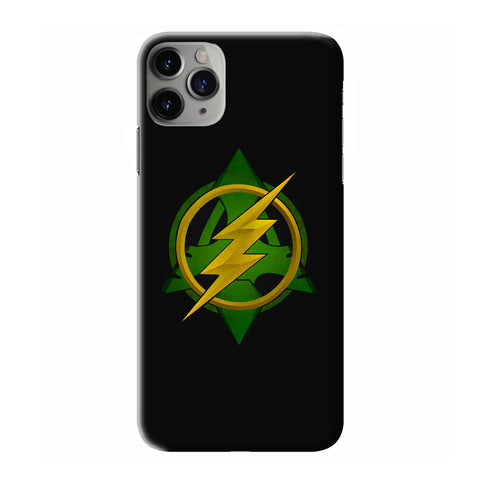 ARROW VS THE FLASH LOGO iPhone 6/6S 7 8 Plus X/XS XR 11 Pro Max 3D Case - Cool Custom Cover Personalized Design